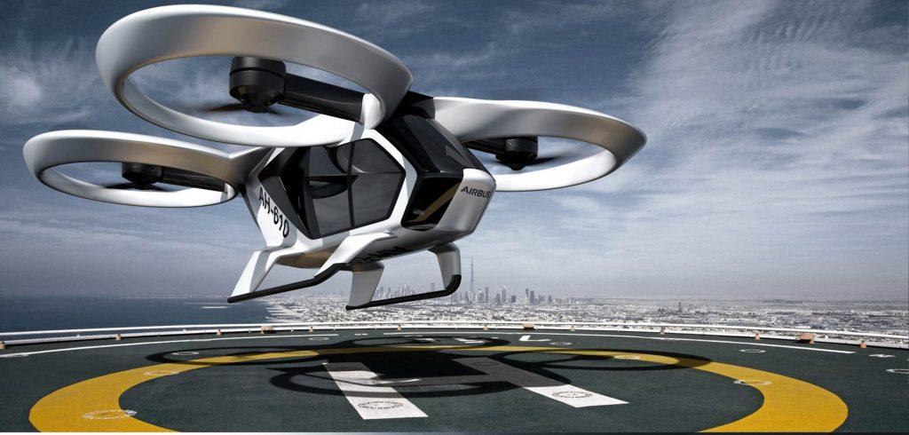 Die Zukunft ist nahe – Airbus stellt Lufttaxi vor